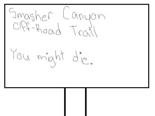 smashercanyonsign
